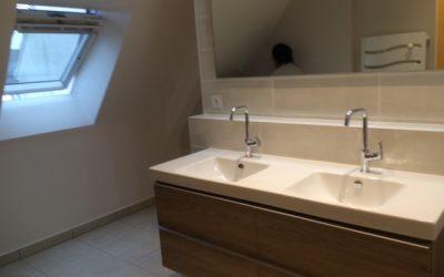 Aménagement d'une salle de bains