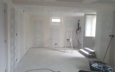 Création d'un Studio dans un Sous-Sol