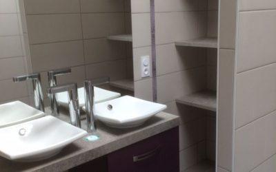 Rénovation d'une salle de bains à Lorient