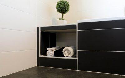 Rénovation d'une salle de bains et d'un intérieur lounge