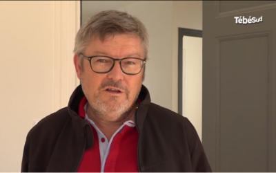 Jean-Louis Le Maléfan, interviewé sur le JT de TébéSud